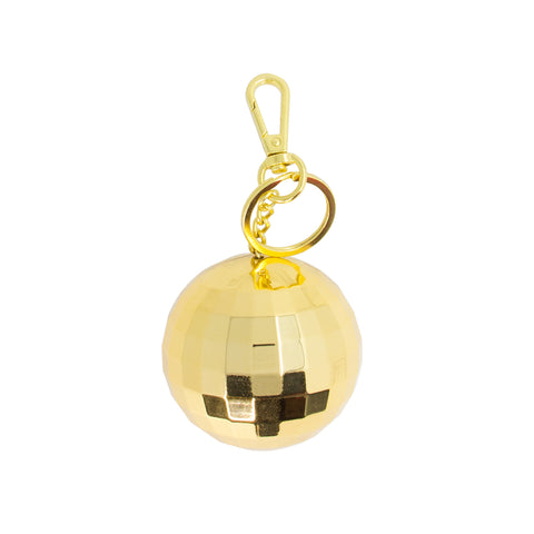 gold disco ball power bank