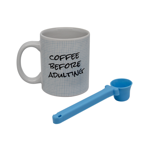 Coffee Lover's Set: Coffee Before Adulting