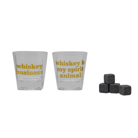 Whiskey Business Whiskey Glass Set