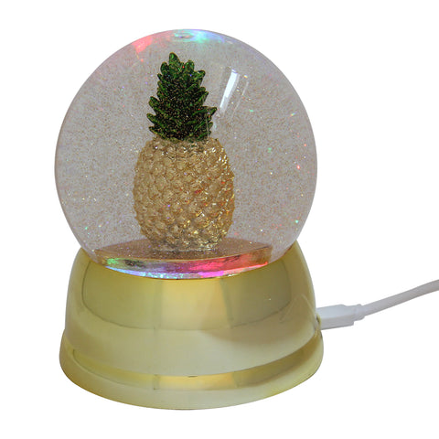 USB Snow Globe Pineapple