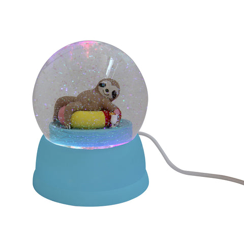 USB Snow Globe Lazy Pool
