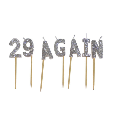 Toothpick Candles: 29 Again