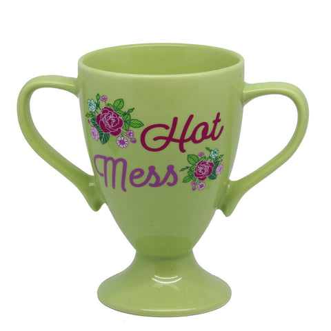 Trophy Mug: Hot Mess