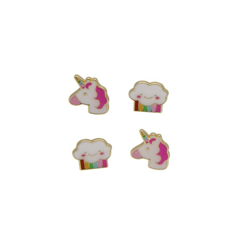 Enamel Magnets: Unicorn