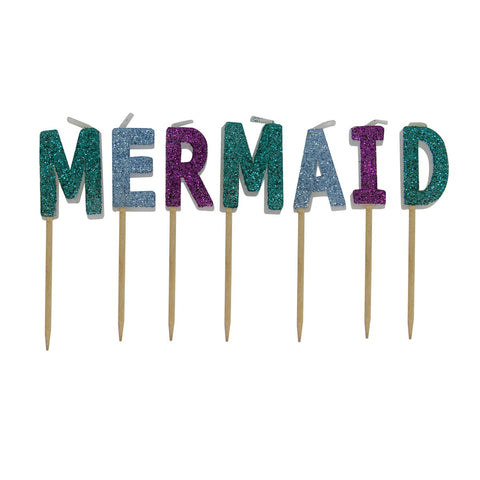 Toothpick Candles: Mermaid