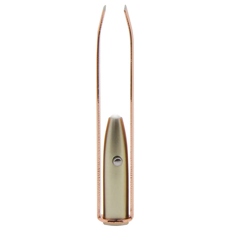 Rose Gold LED Tweezers