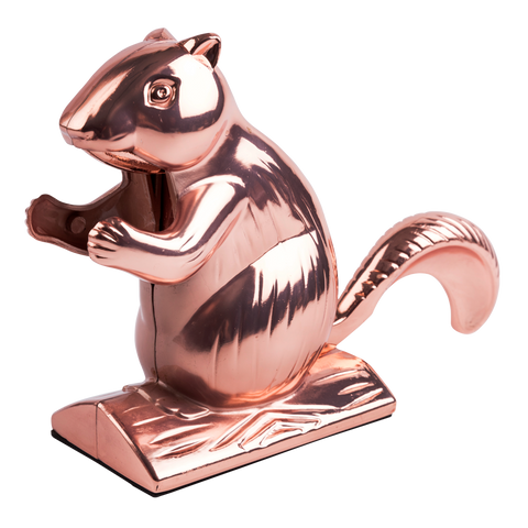 side view of copper squirrel nutcracker