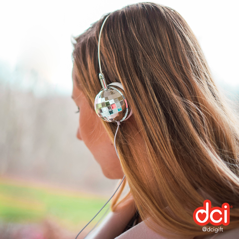 Disco Headphones: Silver