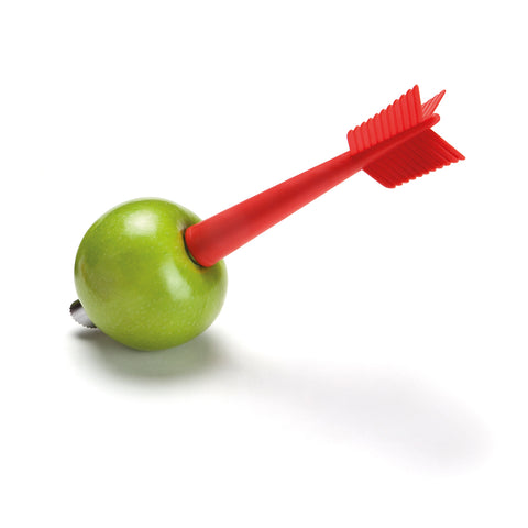 apple shot to apple core and peeler