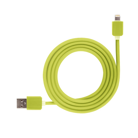 green usb cable for iphone