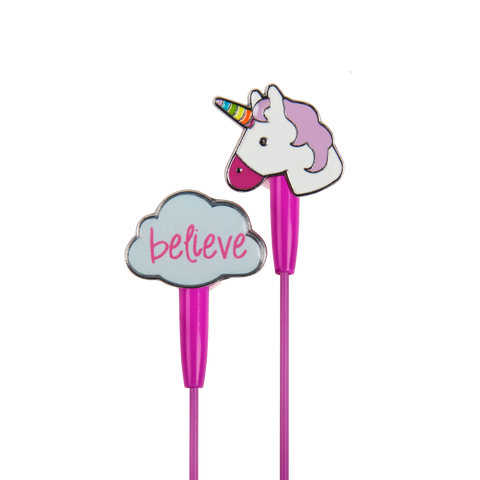 unicorn dreams cute earbuds