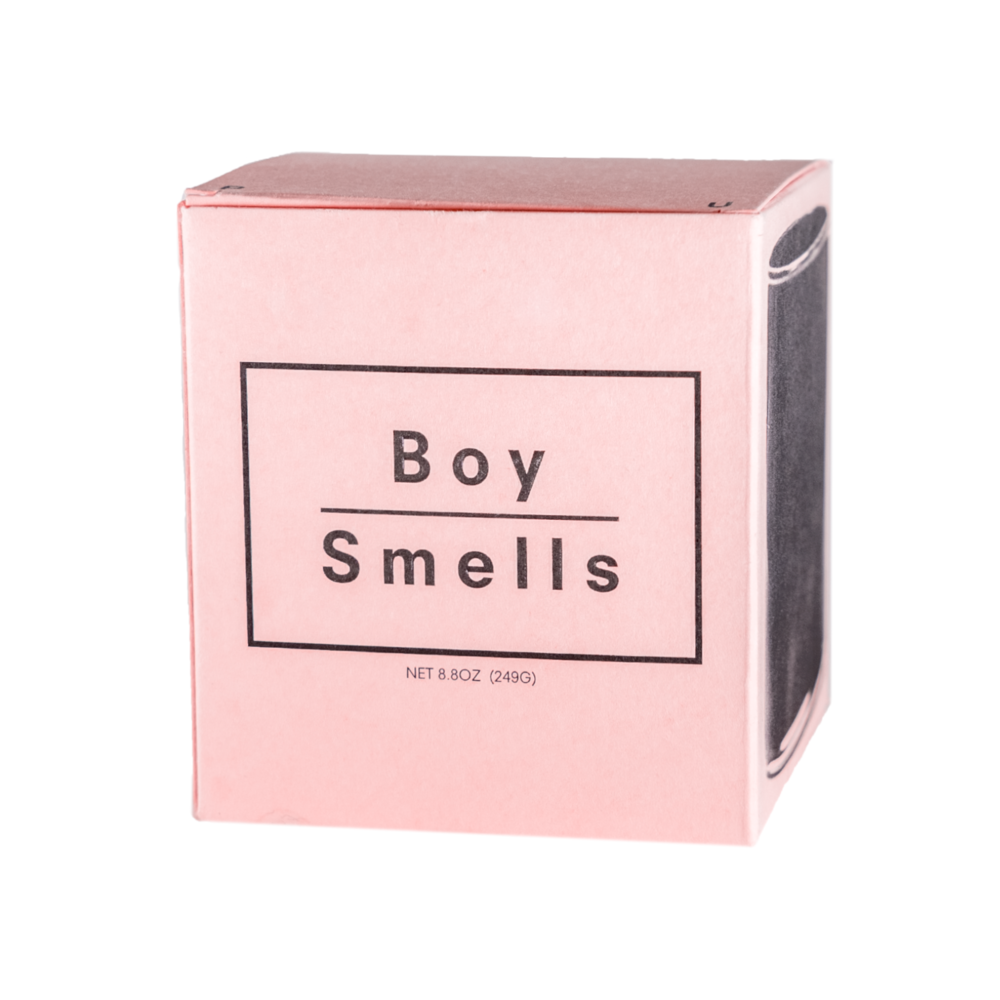 Boy Smells Candles