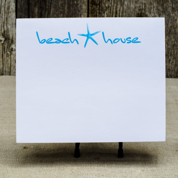 Beach House Jumbo Notepad