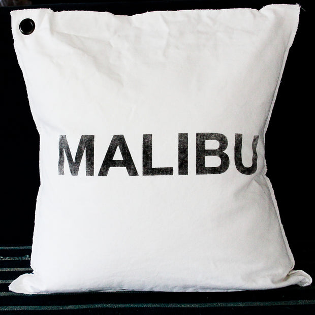 Malibu Canvas Pillow