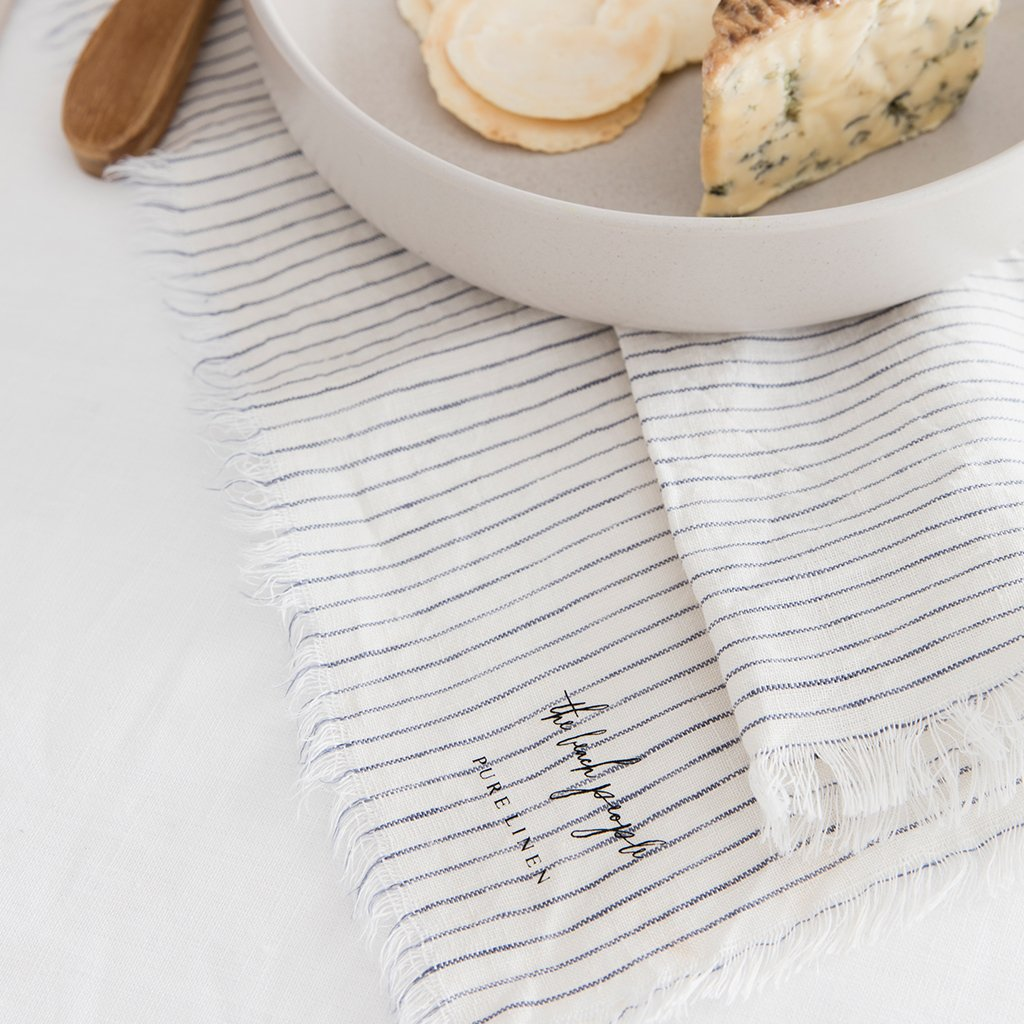 Beach People Linen Napkins - 4 Pack
