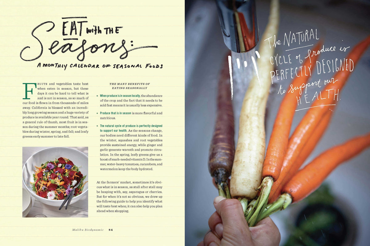 One Gun Ranch: Biodynamic Recipes