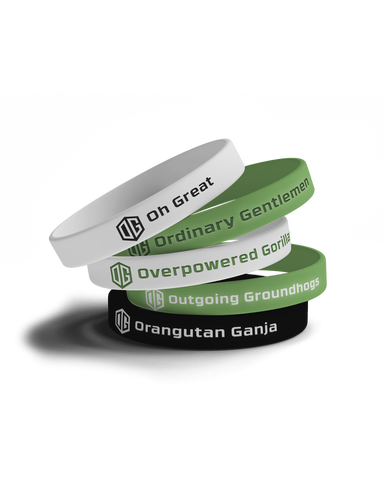 OG LEGACY WRISTBAND BUNDLE - Team OG Official Shop
