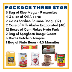 Image of Package Three Star