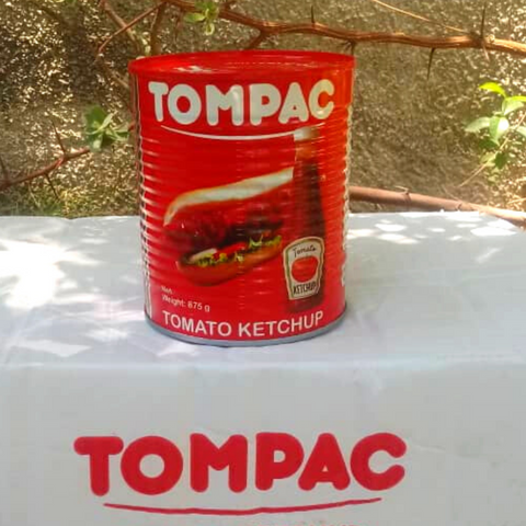 Case Ketchup Tompac - 12 Units of 575 grams