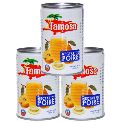 Case Jus La Famosa - Saveur Mango - 48 units