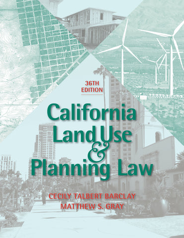 2018 California Land Use & Planning Law is here!
