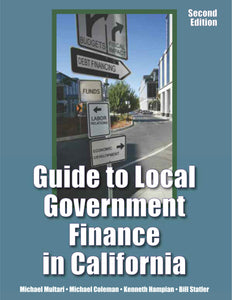 Guide to Local Government Finance in California, 2nd edition