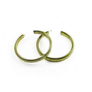 dConstruct Eco-Friendly Recycled Resin Handmade HUSH LICHEN Hoop Earrings