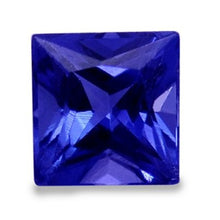 4.49Ct Princess Shape Tanzanite
