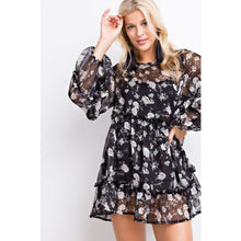 floral festival tunic