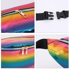 Shiny Rainbow Fanny Pack