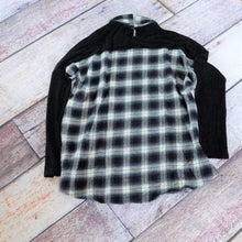 plaid flannel top