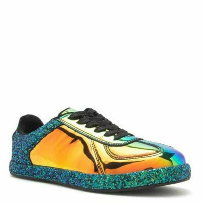 Mermaid Hologram Sneakers Glitter Kicks