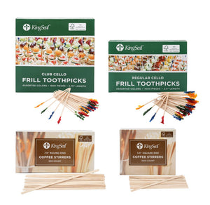 FSC® Certified Toothpicks and Coffee Stirrers