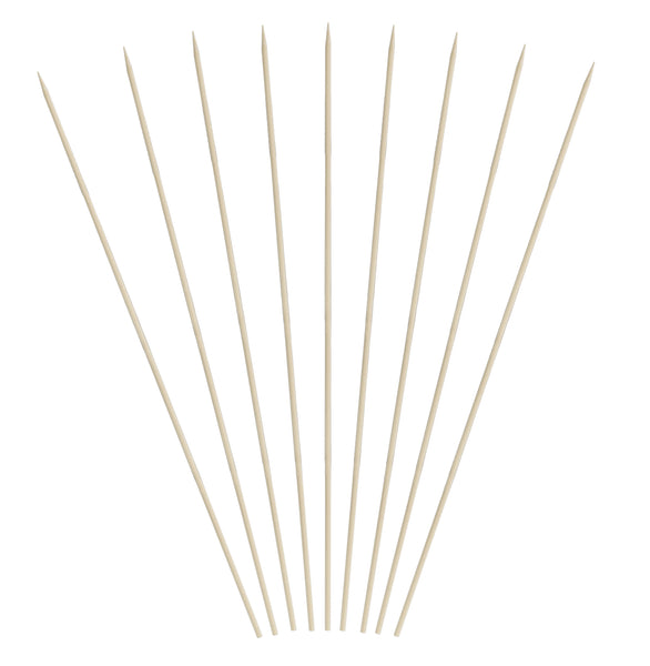 10 inch Bamboo Skewers (12/16/100)