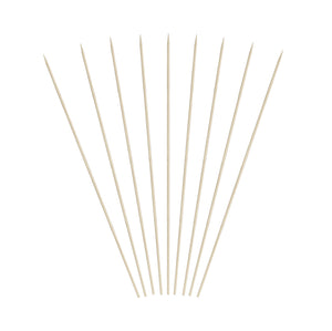 KingSeal Natural Bamboo Wood Skewers - 12 Inch Length