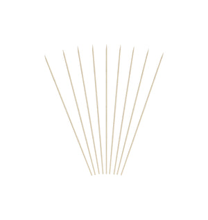 KingSeal Natural Bamboo Wood Skewers - 4 Inch Length