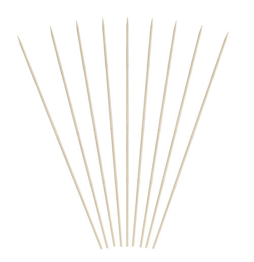 9 inch Bamboo Skewers (12/16/100)