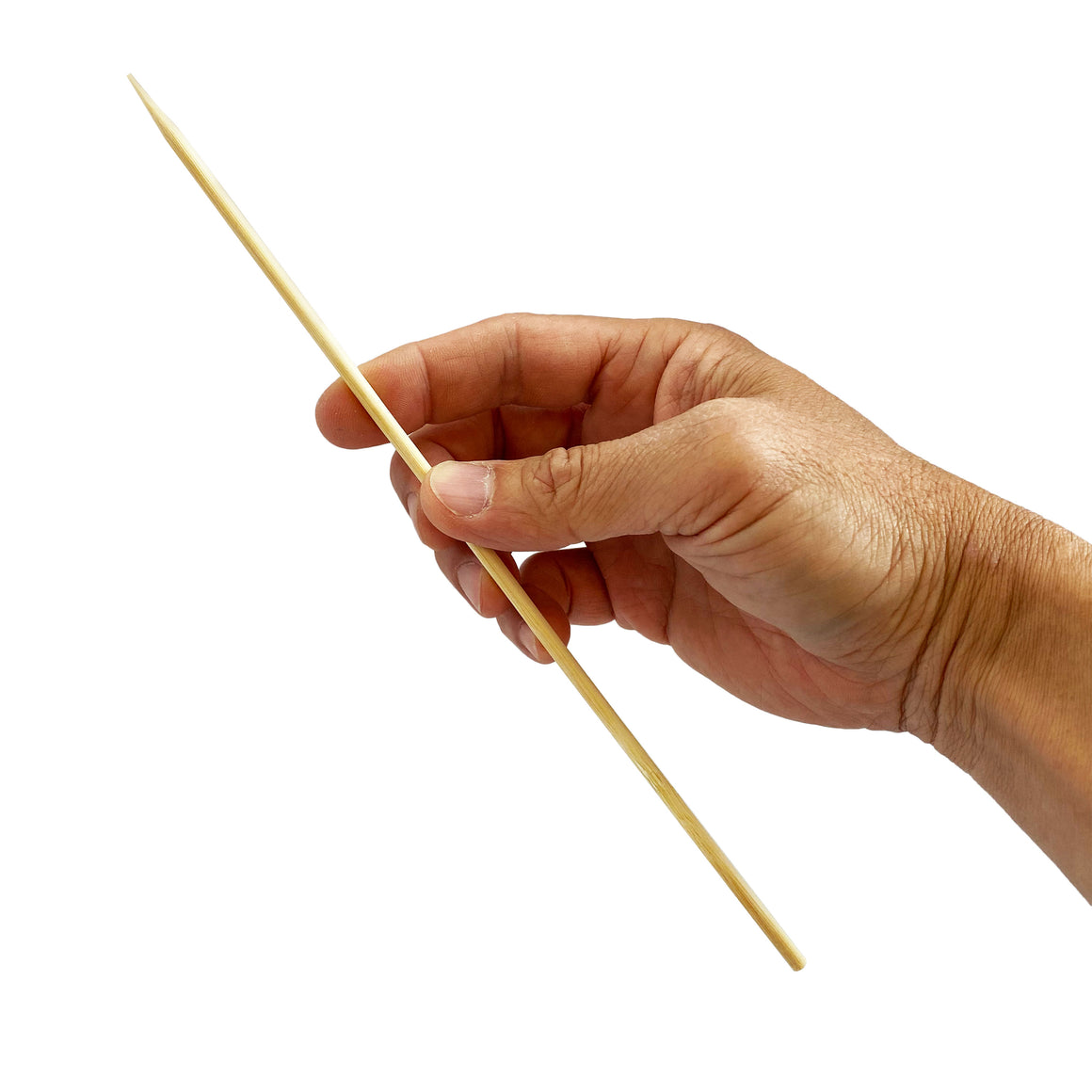 KingSeal Natural Bamboo Kebab Skewers, Sticks, 10 Inch Length x 3.8mm Diameter