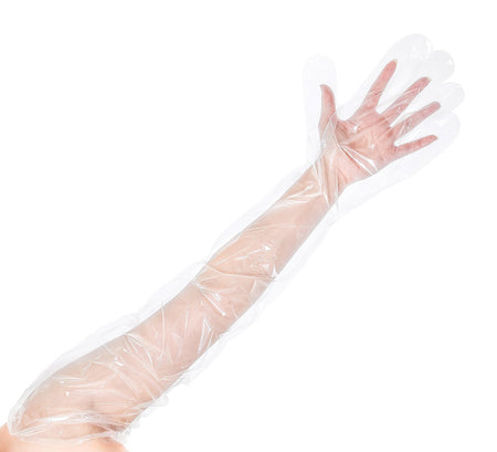 Latex Disposable Gloves, Powdered (10/100)