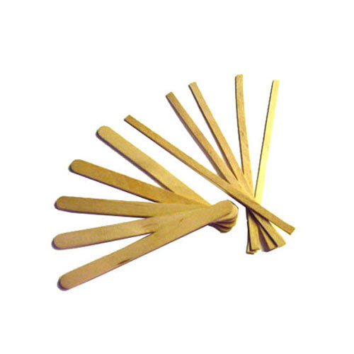 4.5 inch Wood Coffee Stirrers, Round End (10/1000)