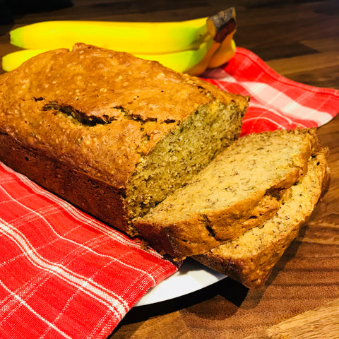Classic Banana Bread with Hemp Hearts