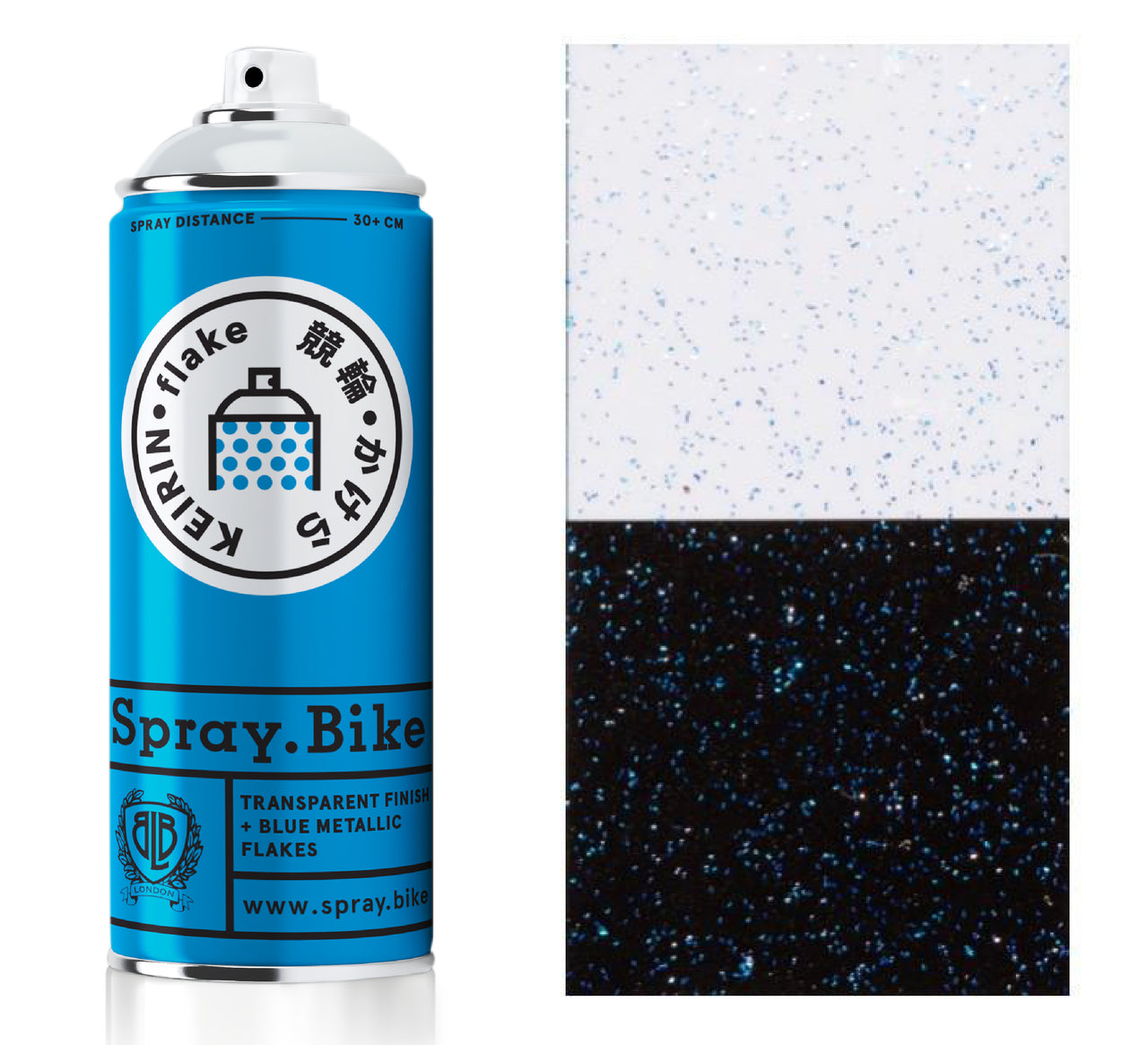 Keirin Flake Hibana Blue - 400ml
