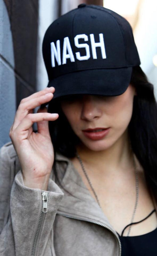 Black Nash Trucker Hat