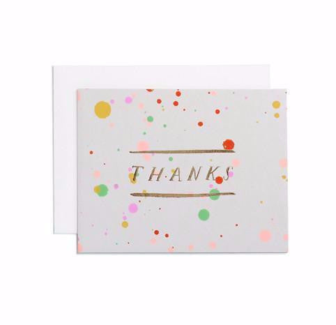 Thank You Card Candy Drip
