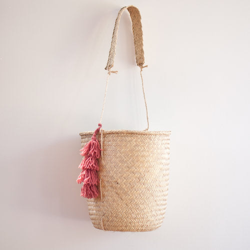 Hanging Palm Oaxacan Basket