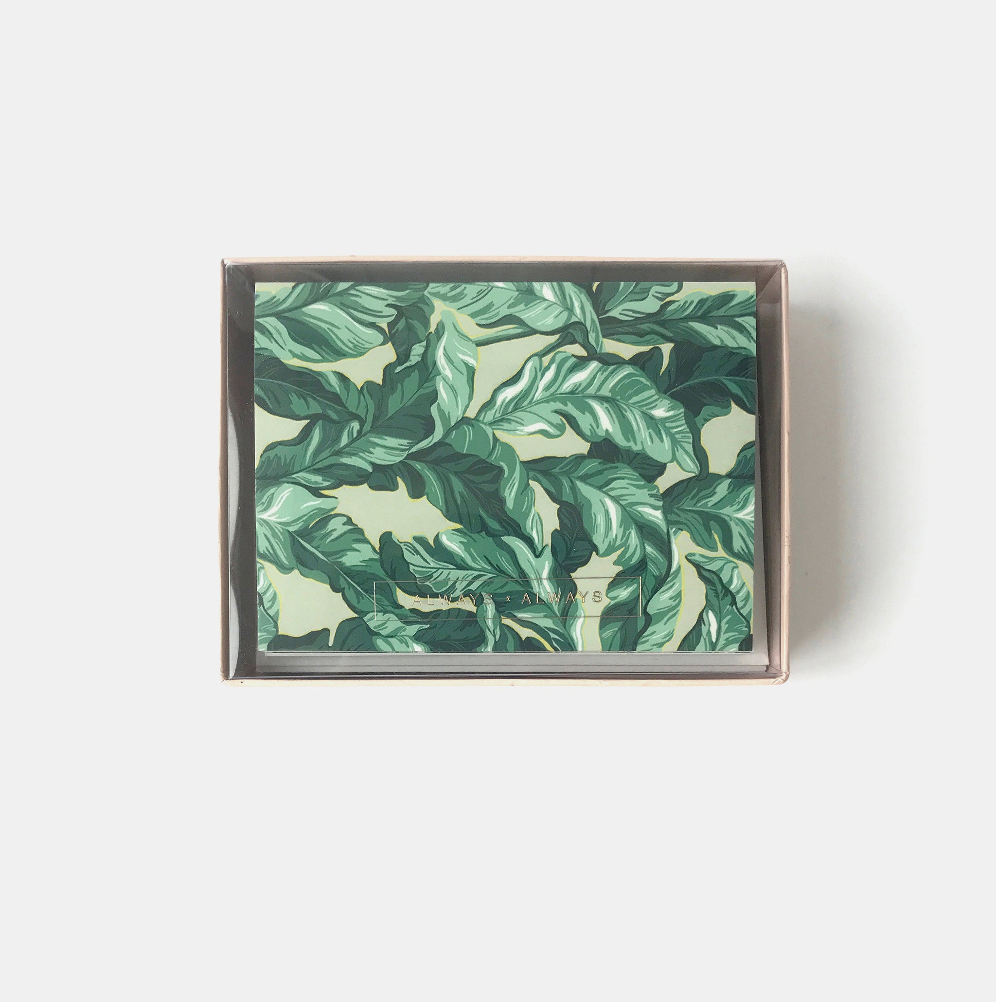 Palm Leaf Card Set