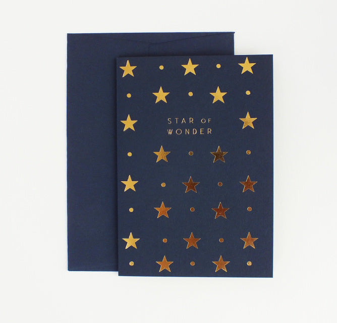 Star of Wonder Christmas Card