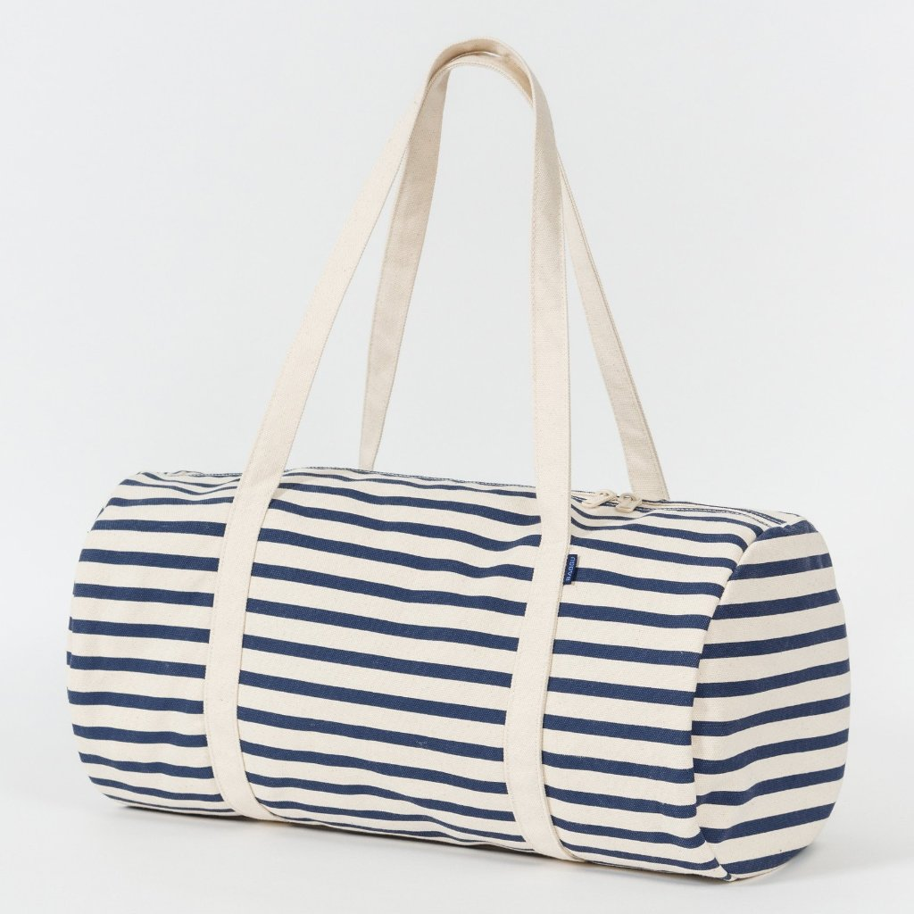 Canvas Duffel in Sailor Stripe
