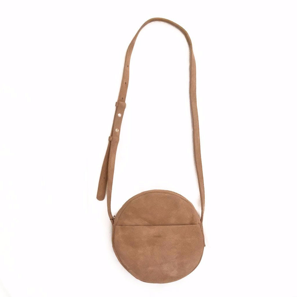 Circle Purse in Suede