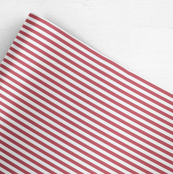 Double-sided Candy Cane Wrapping Paper